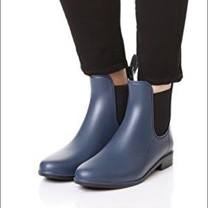 Sam Edelman Tinsley Rubber Chelsea Boots Size 9